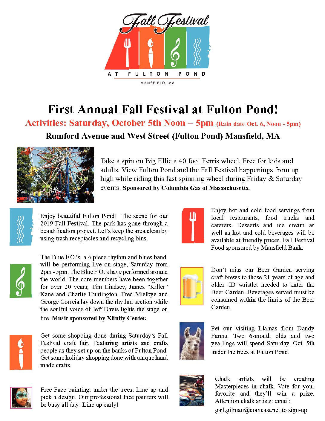 Fall Festival at Fulton Pond