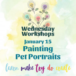 Wednesday Workshop: Pet Portraits